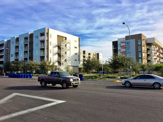 New housing projects are helping to give downtown Mesa a boost.