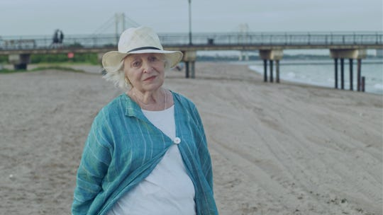 "In ""The Last,"" Claire (Rebecca Schull) spends an afternoon at the beach."