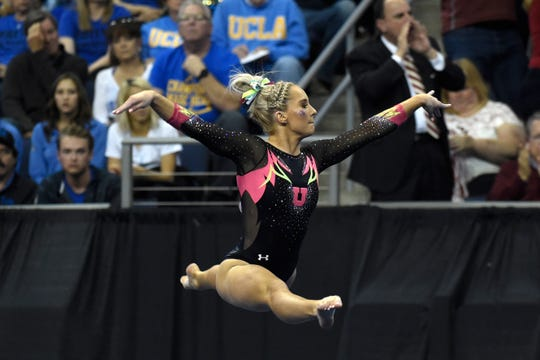 MyKayla Skinner of Gilbert is returning from Utah to train at Desert Lights Gymnastics for the 2020 Tokyo Olympics.