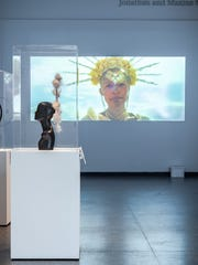 """Souls,"" by Malakai, is a video art installation on display through July 7, 2019, at the Phoenix Art Museum."