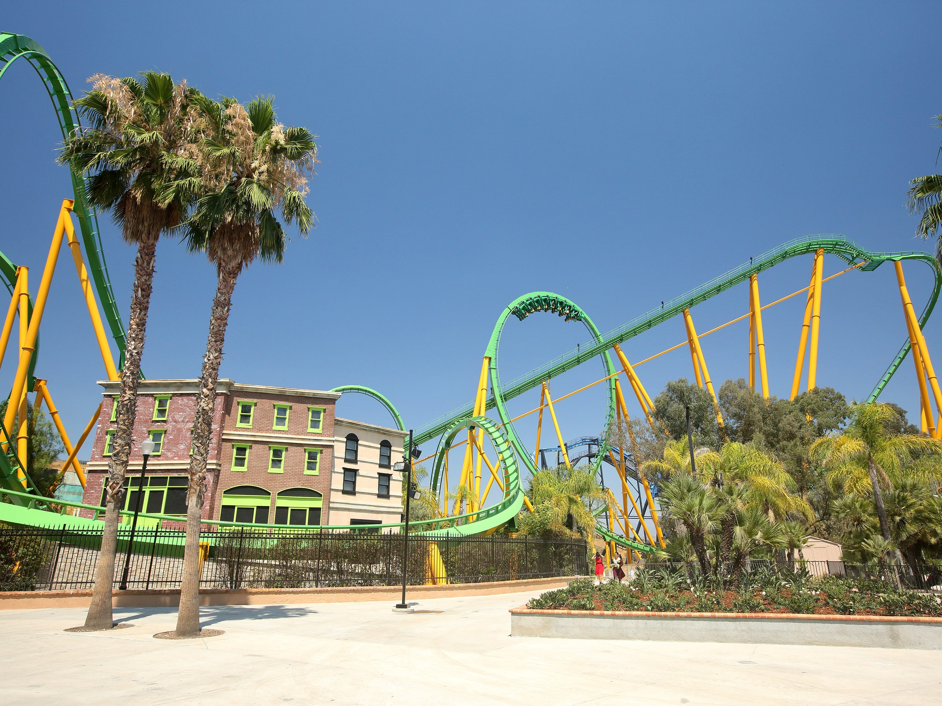 Six Flags Magic Mountain is known for its assortment of coasters.