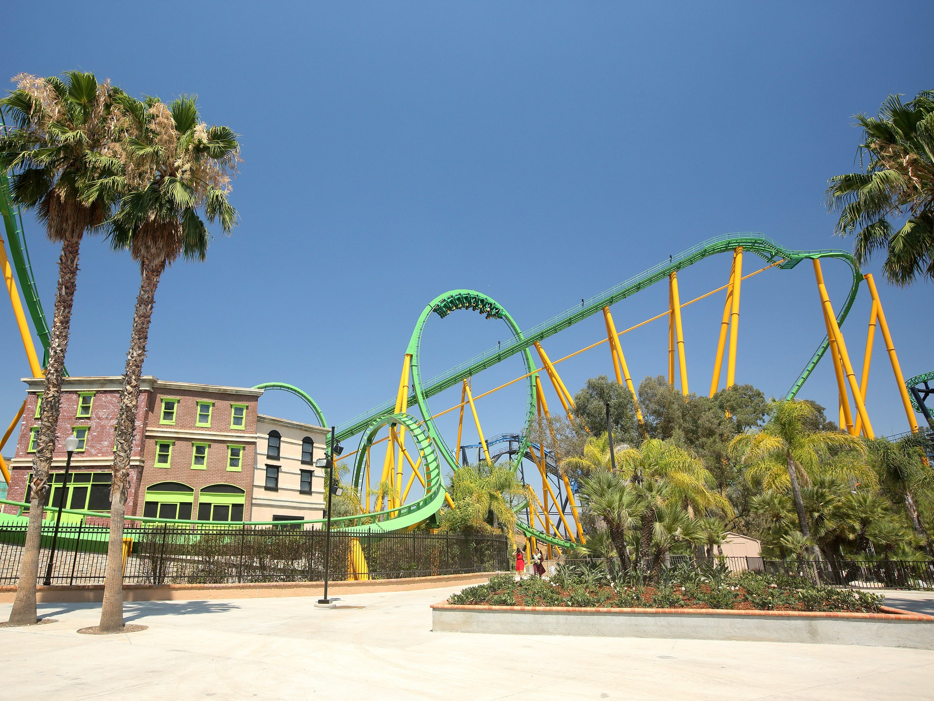 Six Flags Magic Mountain is known for its assortment of roller coasters.