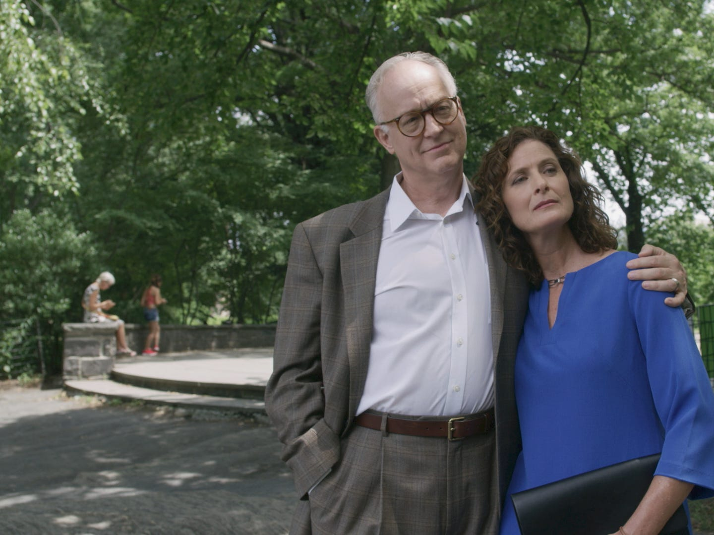 """Harry (Reed Birney) and Melody (Julie Fain) Lawrence are a married couple in """"The Last."""""""