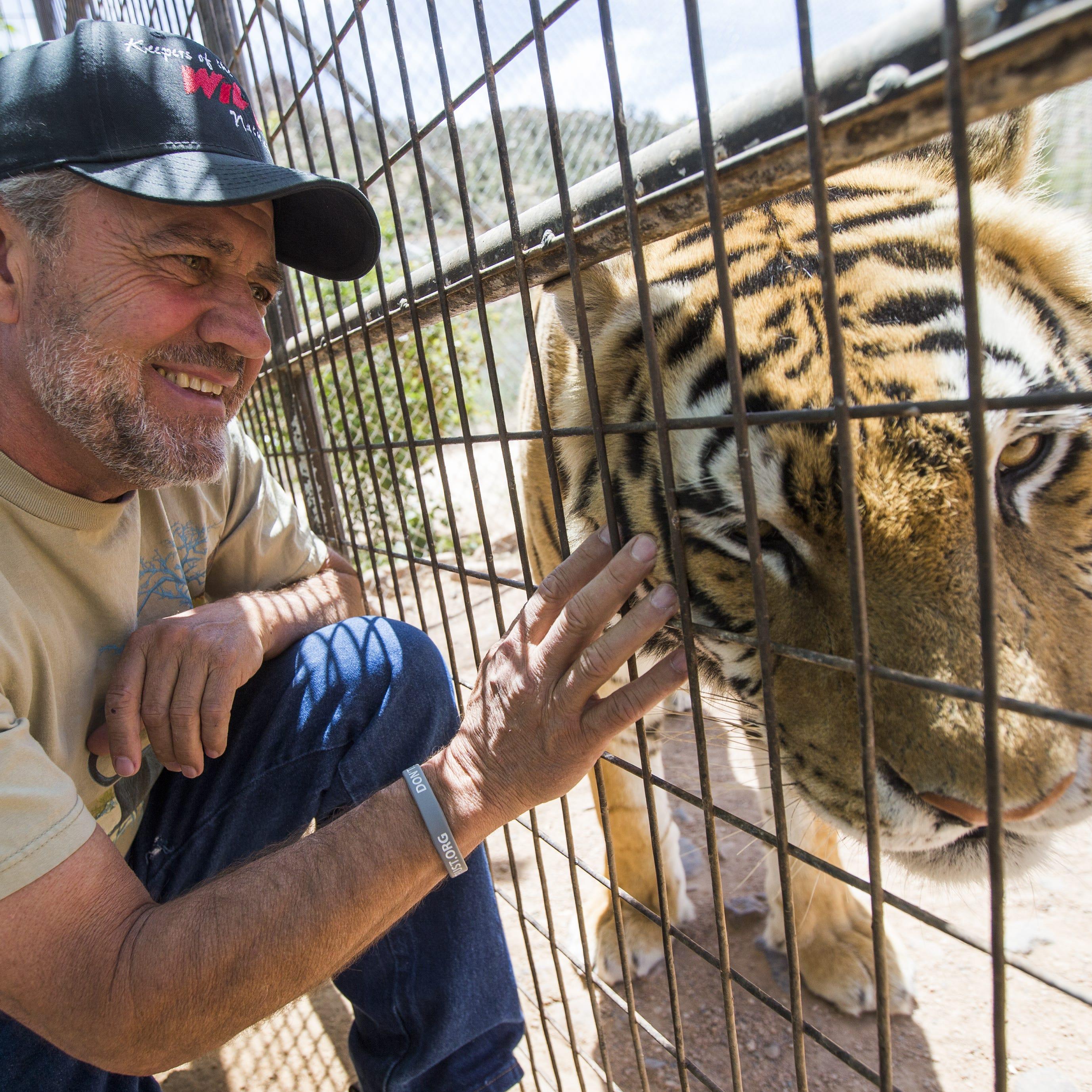 Tiger attacks executive director of northern Arizona wildlife sanctuary