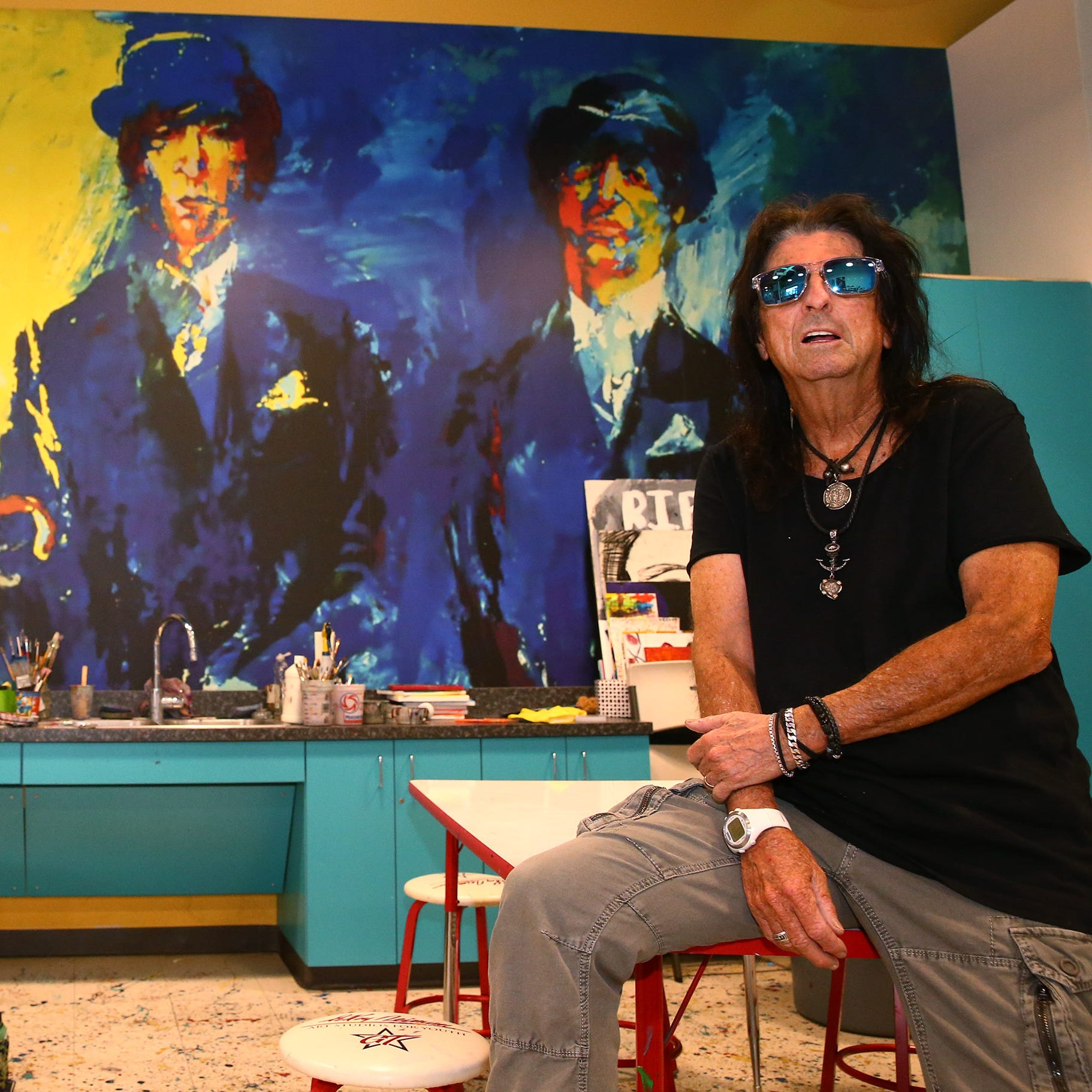Alice Cooper goes through his Rolodex and nabs famous friends for weekend fundraiser