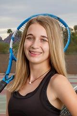 Scottsdale Saguaro tennis player Kennedy Koch