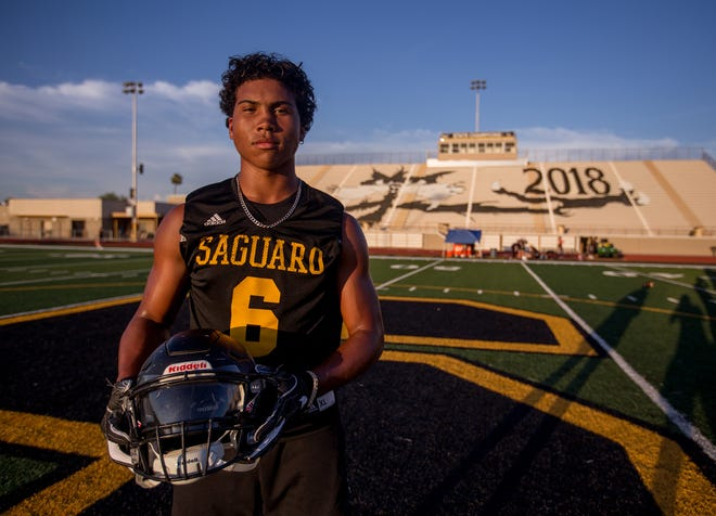 Saguaro High School's Damian Sellers is one of several players from the. school that have been offered by Nebraska.