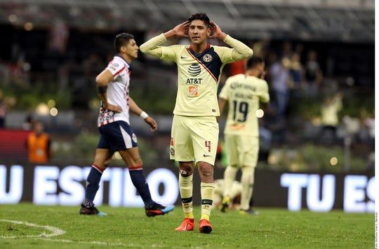 Edson Álvarez, jugador del América.
