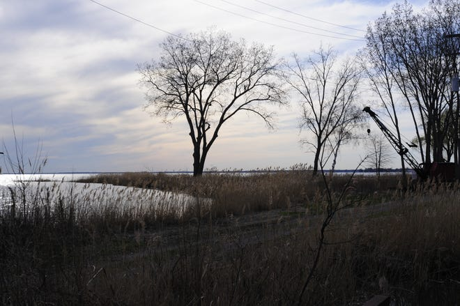 Blue Horseshoe Holding is proposing an event destination and restaurant development for a five-acre island off of Dyke Road in Clay Township. Planning commissioners said they wanted more information on the extensive plan, postponing a public hearing for the project on Wednesday, April 24, 2019.