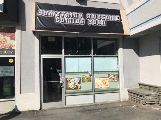 The future storefront of Baka Americana, a ramen bar set to open at 264 North Road in the Town of Poughkeepsie.