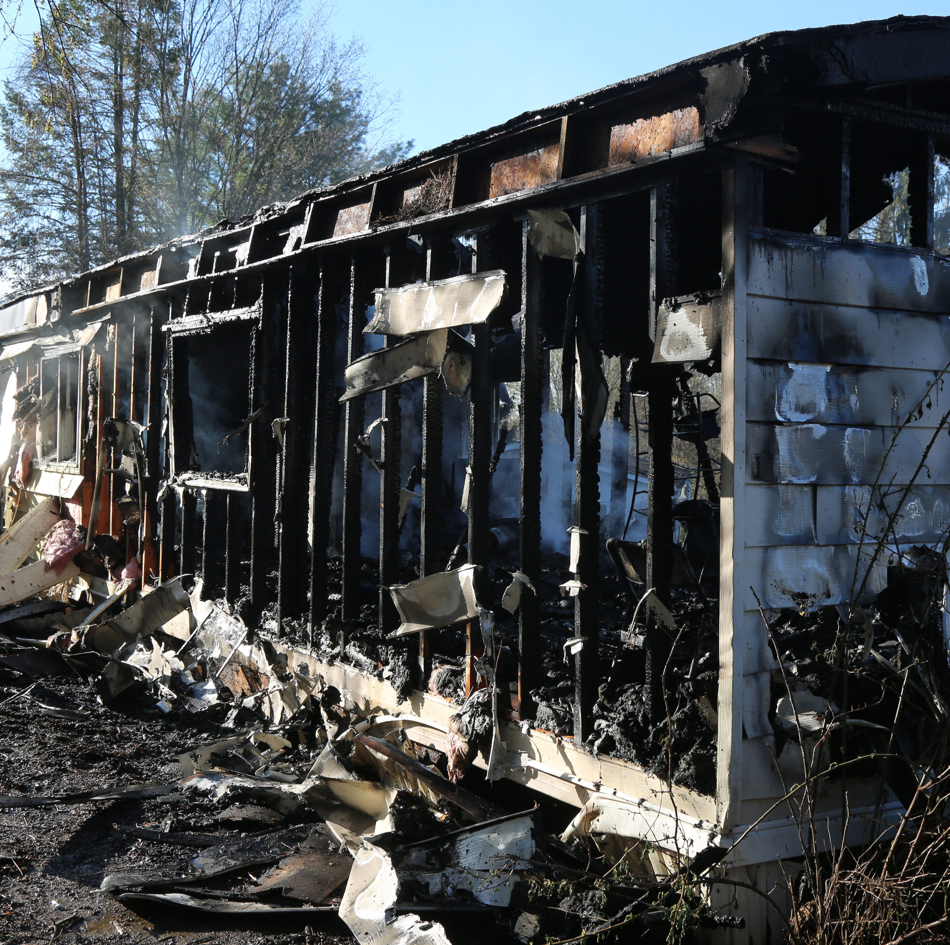 Dover Plains trailer 'a total loss' following fire, 1 displaced: chief