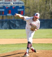 Roy C. Ketcham's Xavier Kolhosser throws a pitch during Wednesday's game versus Arlington.