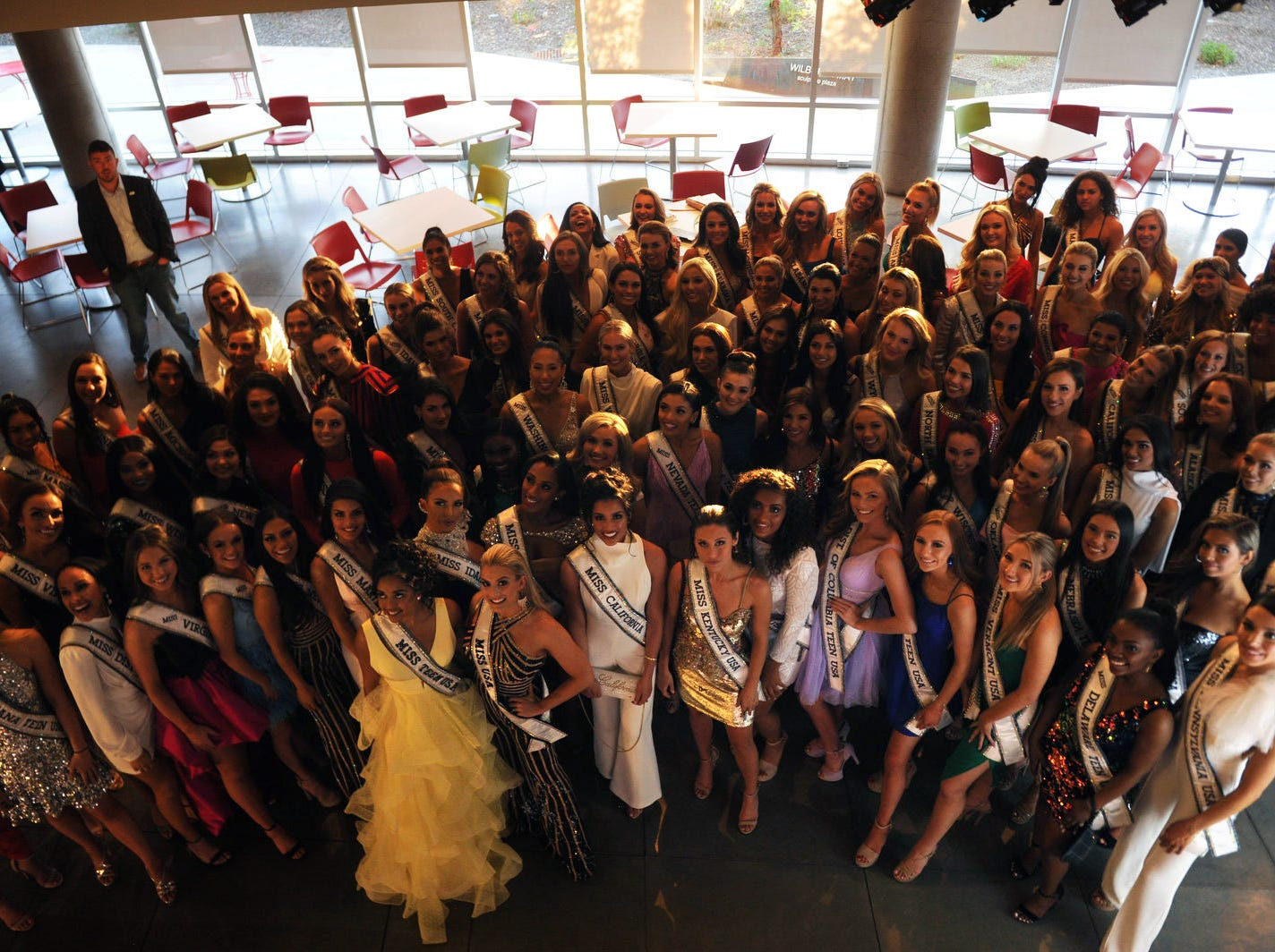 The official Miss USA and Miss Teen USA welcome event at the Nevada Museum of Art in Reno on April 24, 2019.