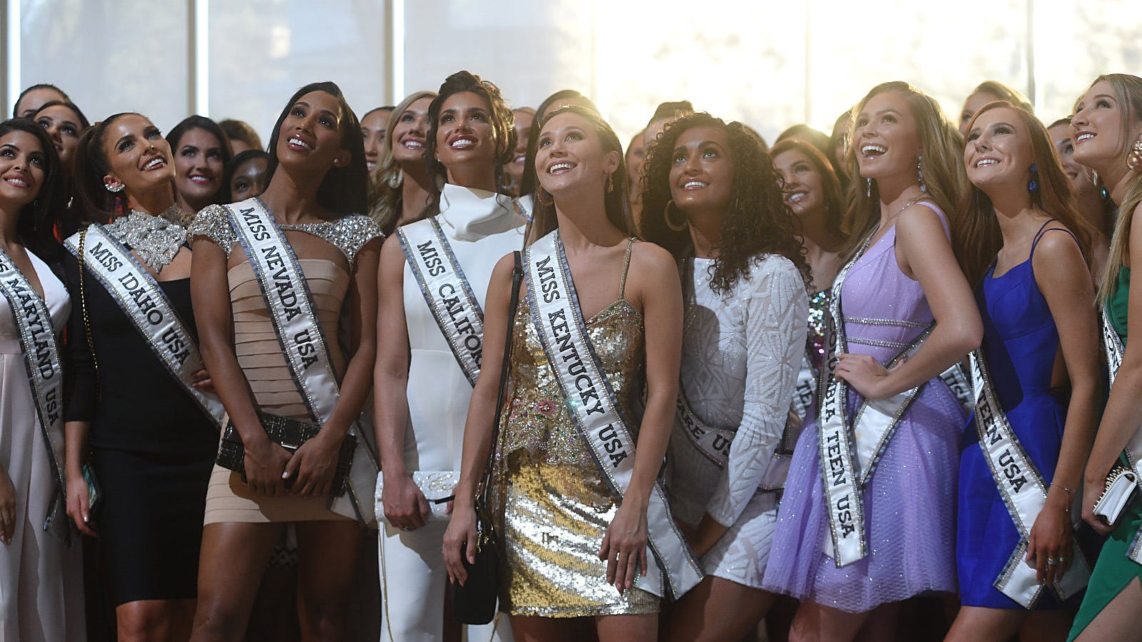 The official Miss USA and Miss Teen USA welcome...