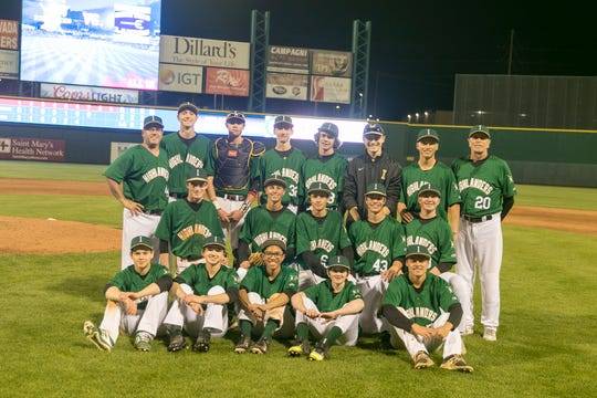 The Incline baseball team, shown at Greater Nevada Field last week, did not play any home games this season.