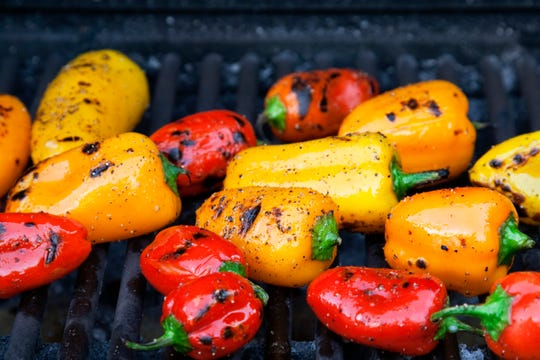 Pam Sherman's husband will just grill vegetables instead of steaks now.