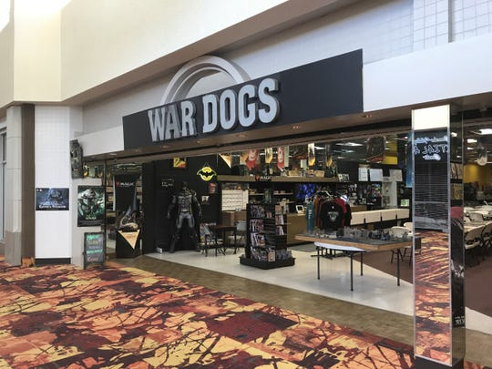 War Dogs Gaming in Sunset Mall, 4205 Sunset Drive.