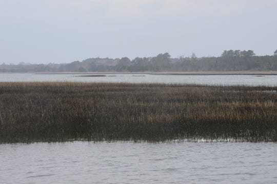 Sea-level rise is threatening barrier islands off Virginia's Eastern Shore.