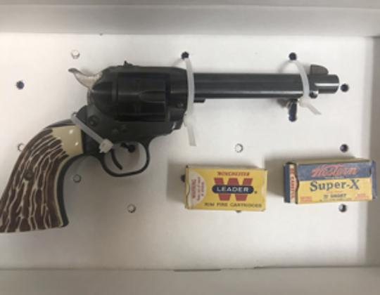 Revolver and ammunition