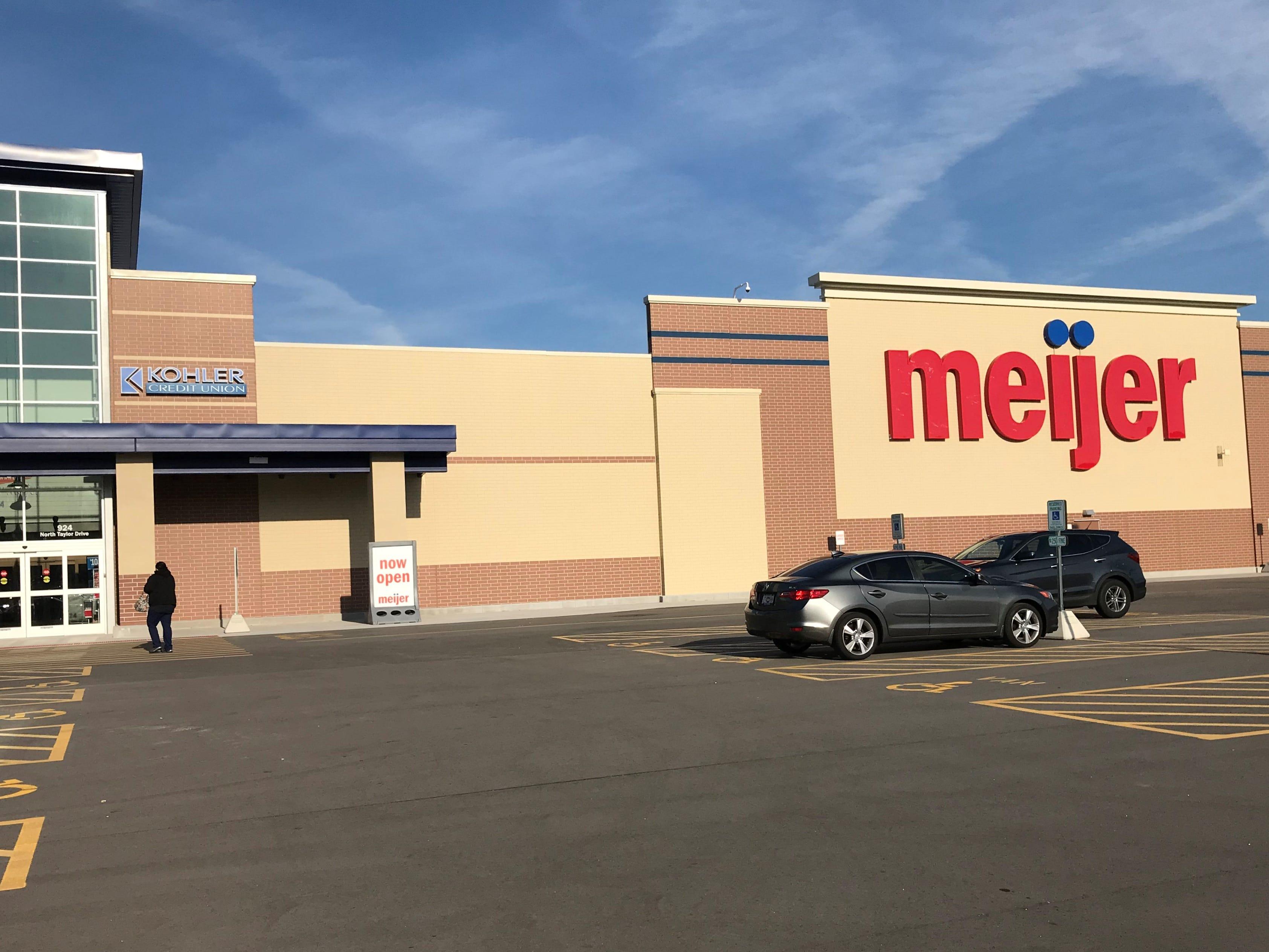 Meijer is officially open in Sheboygan.