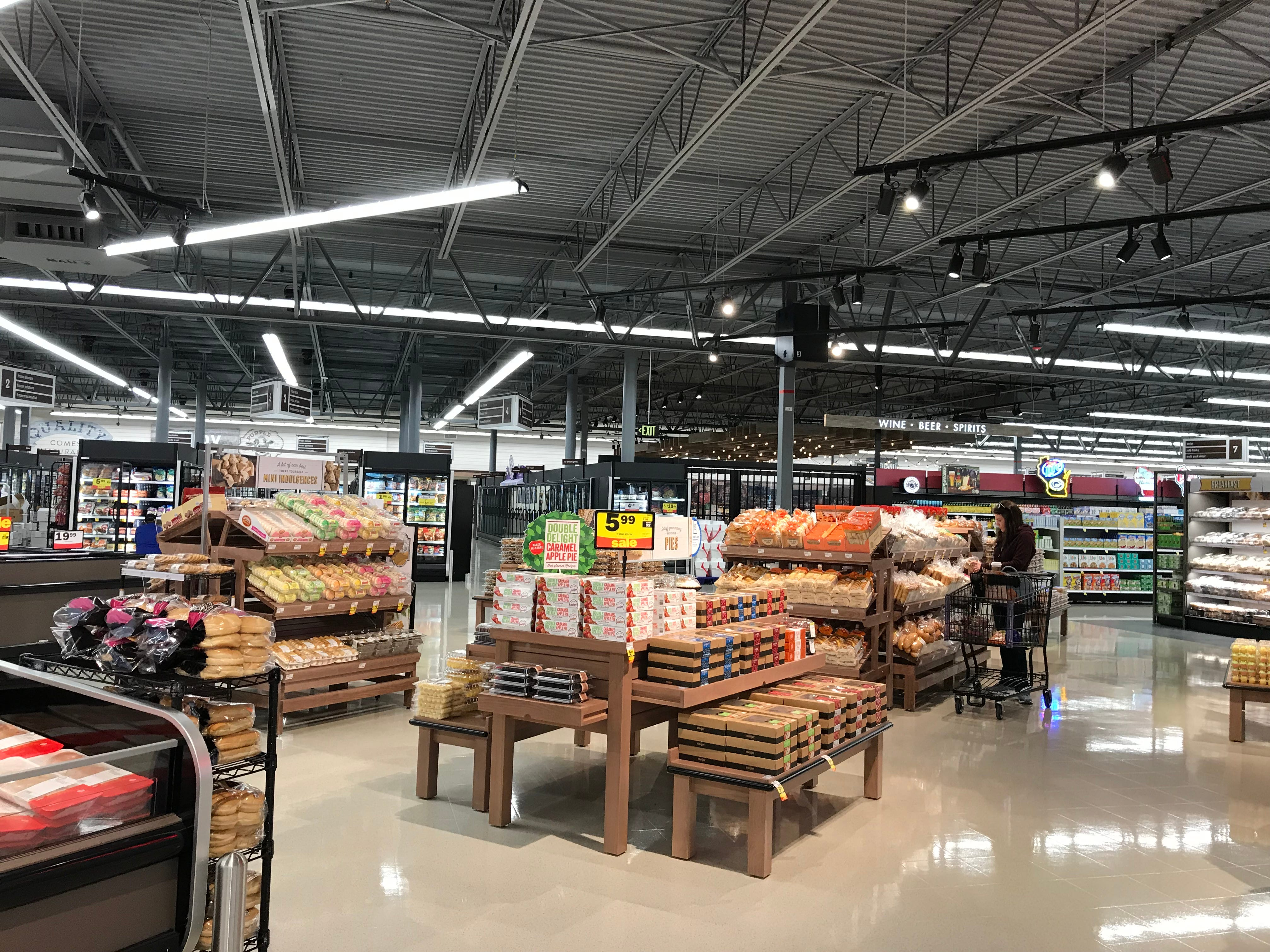 Meijer is officially open in Sheboygan. The new store features a butcher section, deli, bakery and more grocery products.
