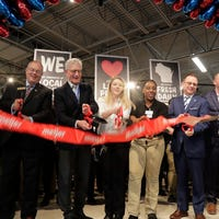 Meijer store in Sheboygan officially open
