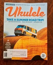 """Yes, there is a """"Ukulele"""" magazine.  The summer 2019 edition mentions Springfield ukulele players Richard and Karen Maxson, husband and wife."""