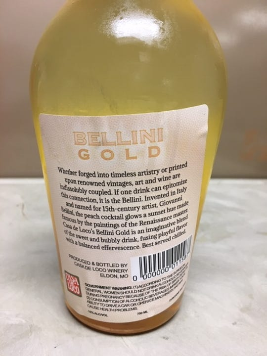 The Missouri Division of Alcohol and Tobacco Control is warning the public that at least six different types of bottled wine from Casa de Loco, of Eldon, may explode.
