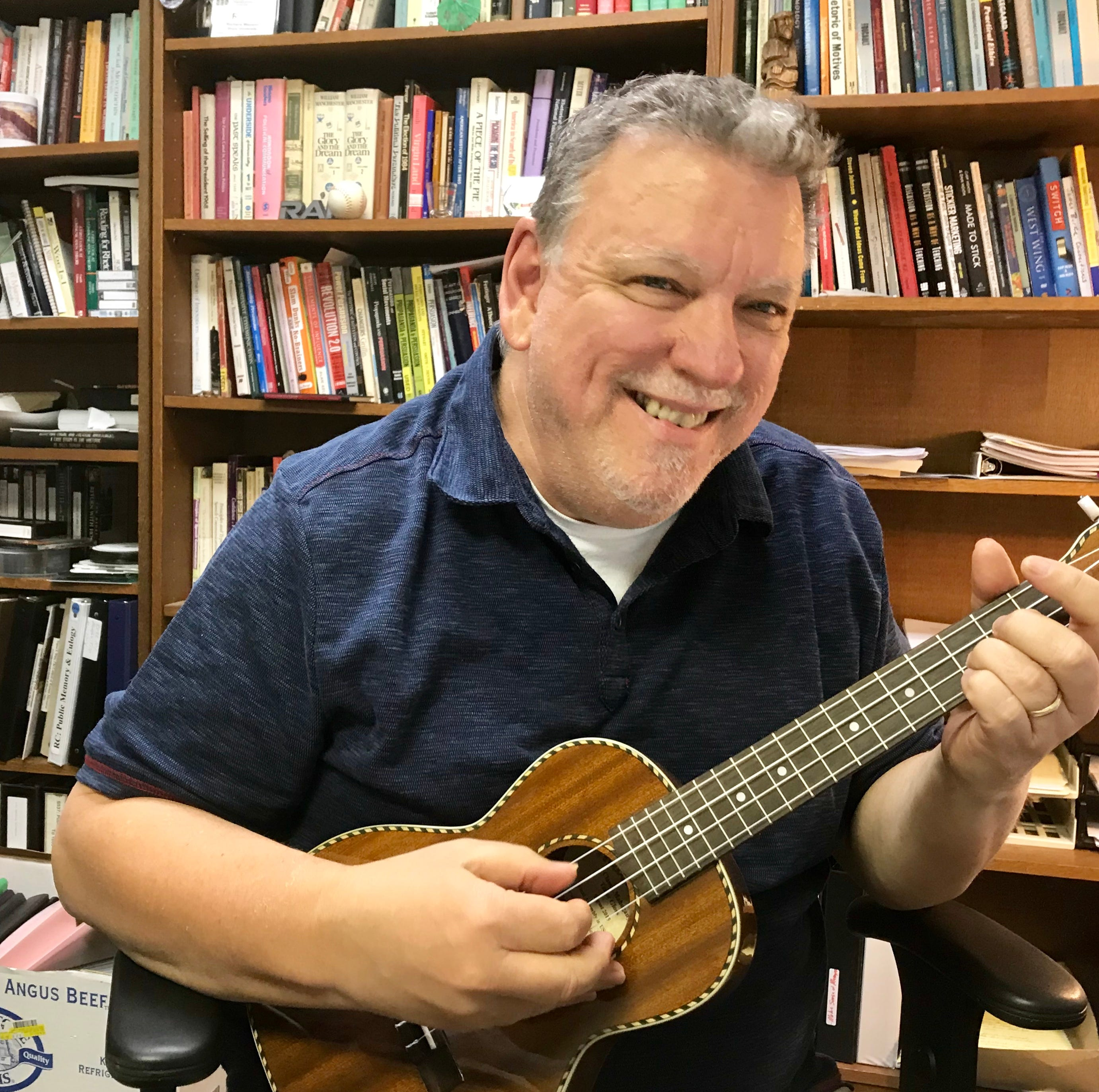 Pokin Around: Stakes were high when local man stepped onstage in Hawaii, ukulele in hand