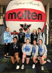 Tallahassee Jrs Volleyball's 16 Nike Pro team has won two tournaments this spring and captured two nationals bids.