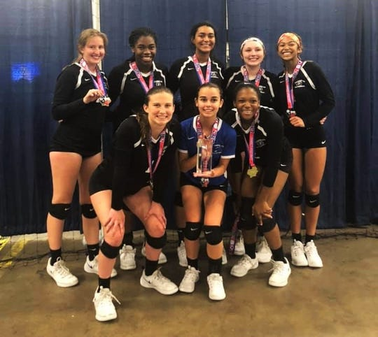 Tallahassee Jrs Volleyball's 16 Nike Pro team won the Mizuno LoneStar Classic in Dallas and captured its second bid to Nationals in July.