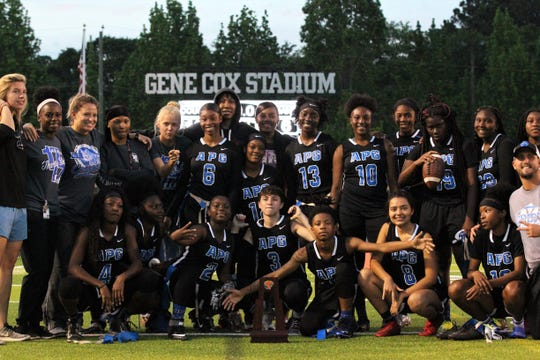 Godby beat Lincoln 19-6 during the district championship game at Gene Cox Stadium on April 24, 2019.