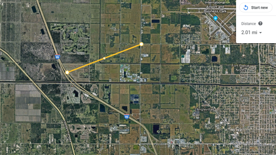 St. Lucie County propose building a $123 million, two lane road from Interstate 95 to St. Lucie Boulevard called Treasure Coast Connector. The road, which is several decades from being built, would provide direct access to Treasure Coast International Airport and Business Park and become an additional evacuation route for the north county area.