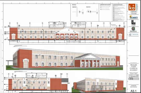 Treasure Coast Classical Academy  rendering