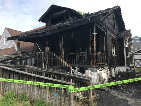 Firefighters went to 5 W. Summit Avenue around 1:30 a.m. Thursday where flames were erupting from the front of the home, according to the office of the state fire marshal.