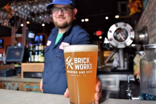 Smyrna's Brick Works Brewing and Eats spun off a new location in Long Neck earlier this year. The location offers the state's first craft hard seltzer.