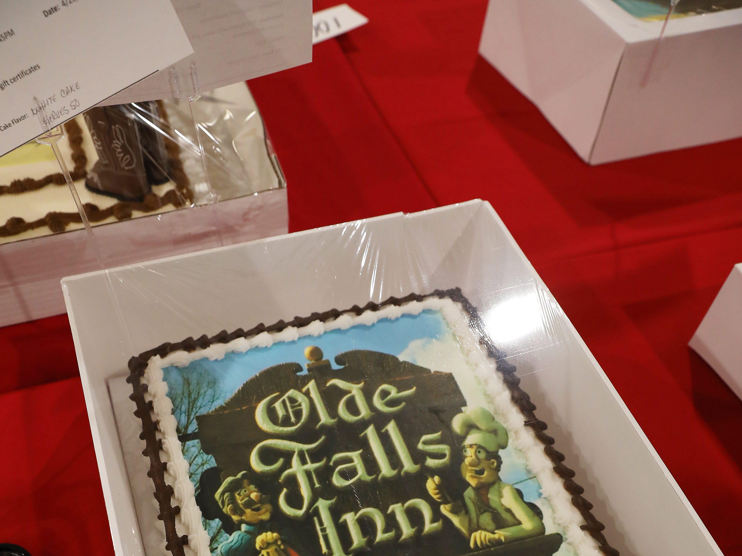 1:30 P.M. Thursday cake 111 Olde Falls Inn.