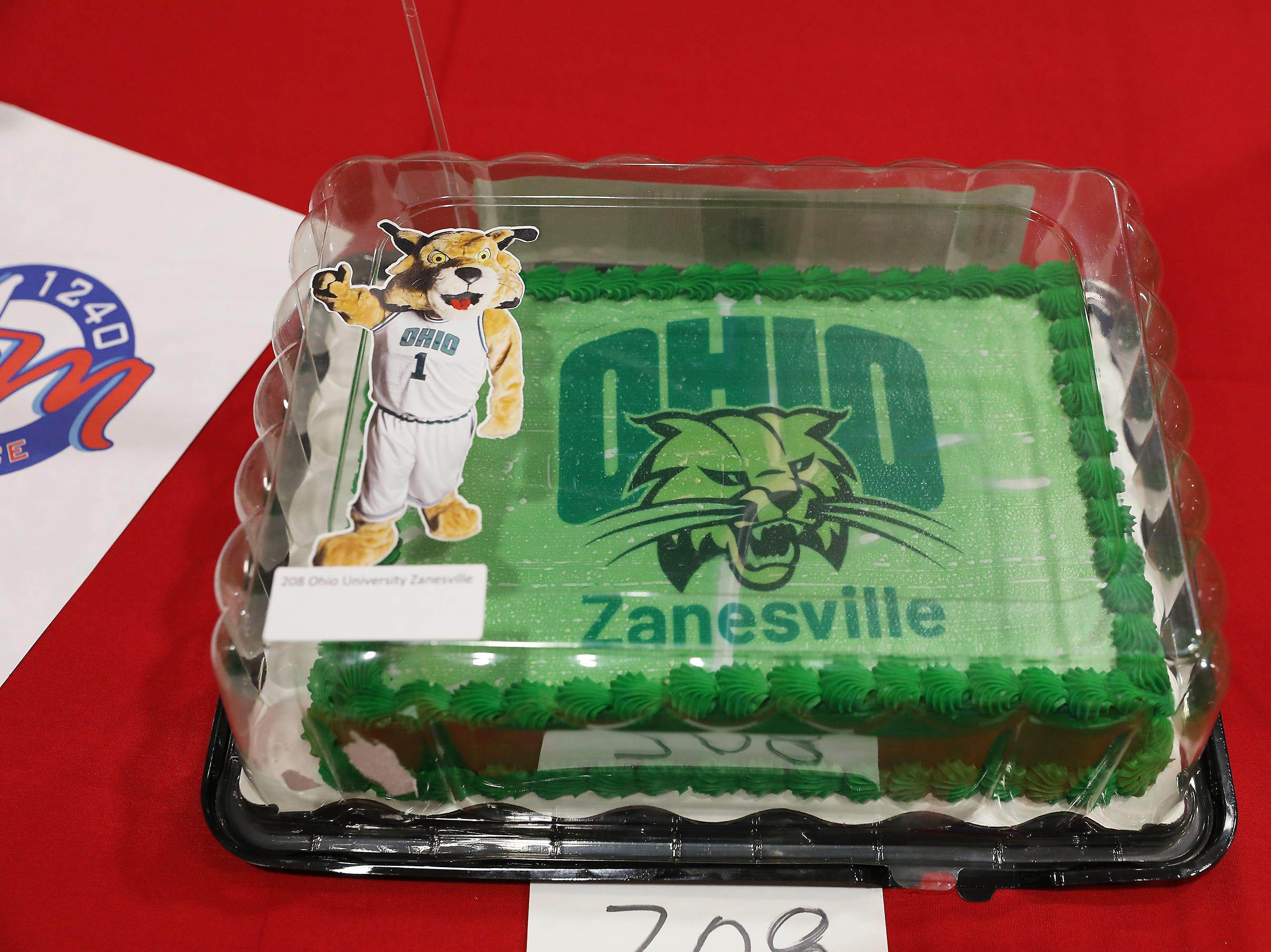 5:45 P.M. Thursday cake 208 Ohio University Zanesville - $500 for tuition