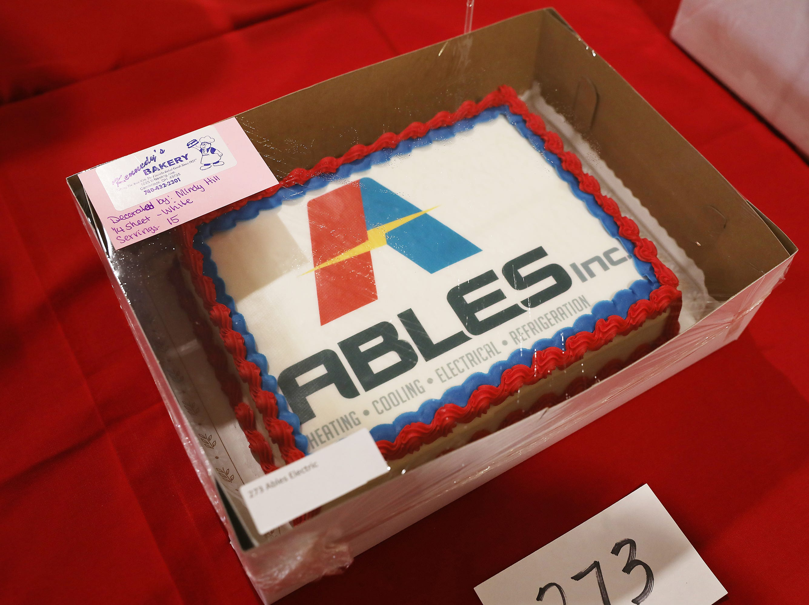 11 A.M. Friday cake 273 Ables Electric