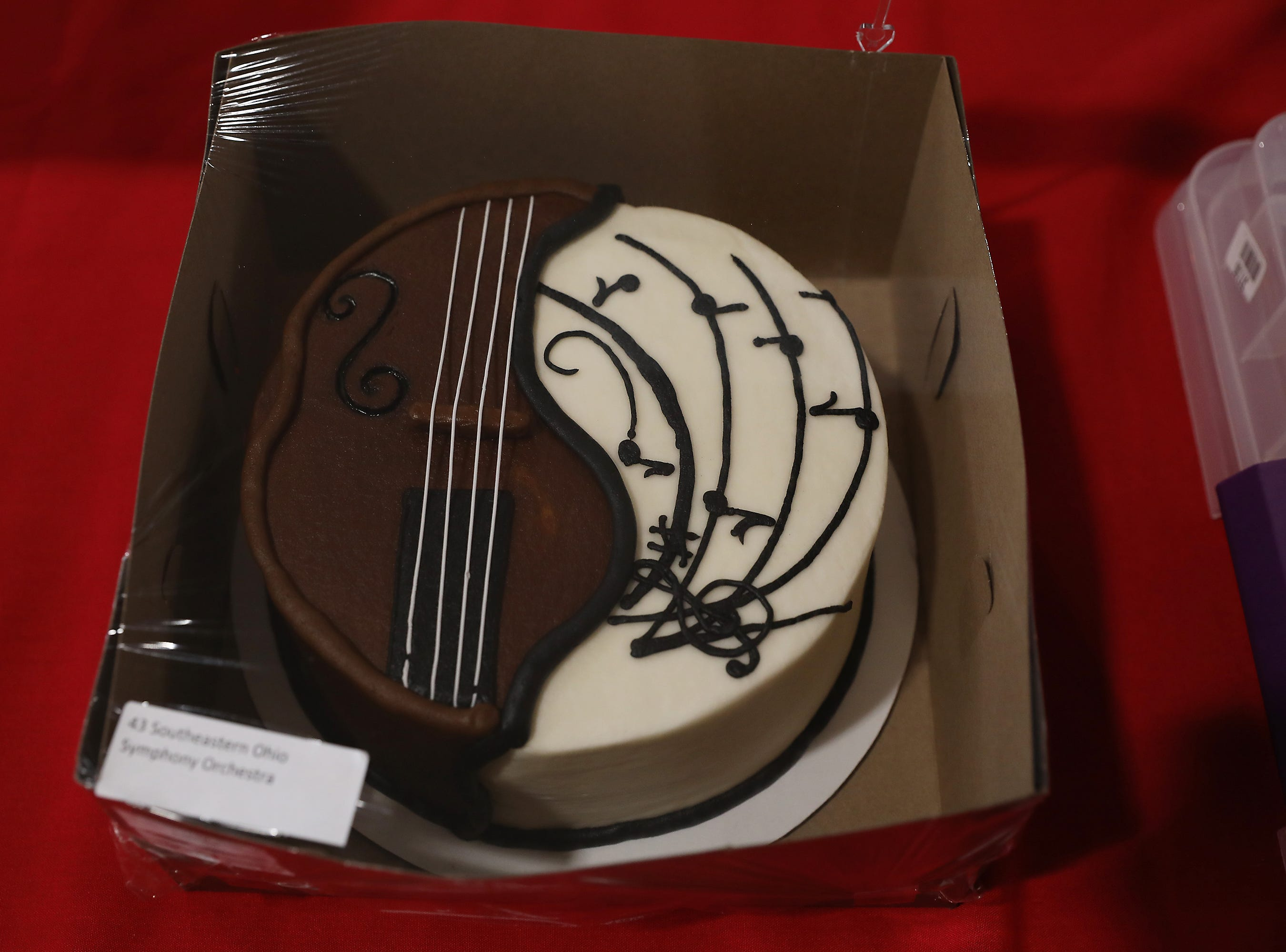10 A.M. Thursday cake 43 Southeastern Ohio Symphony Orchestra - 2 season passes; $90