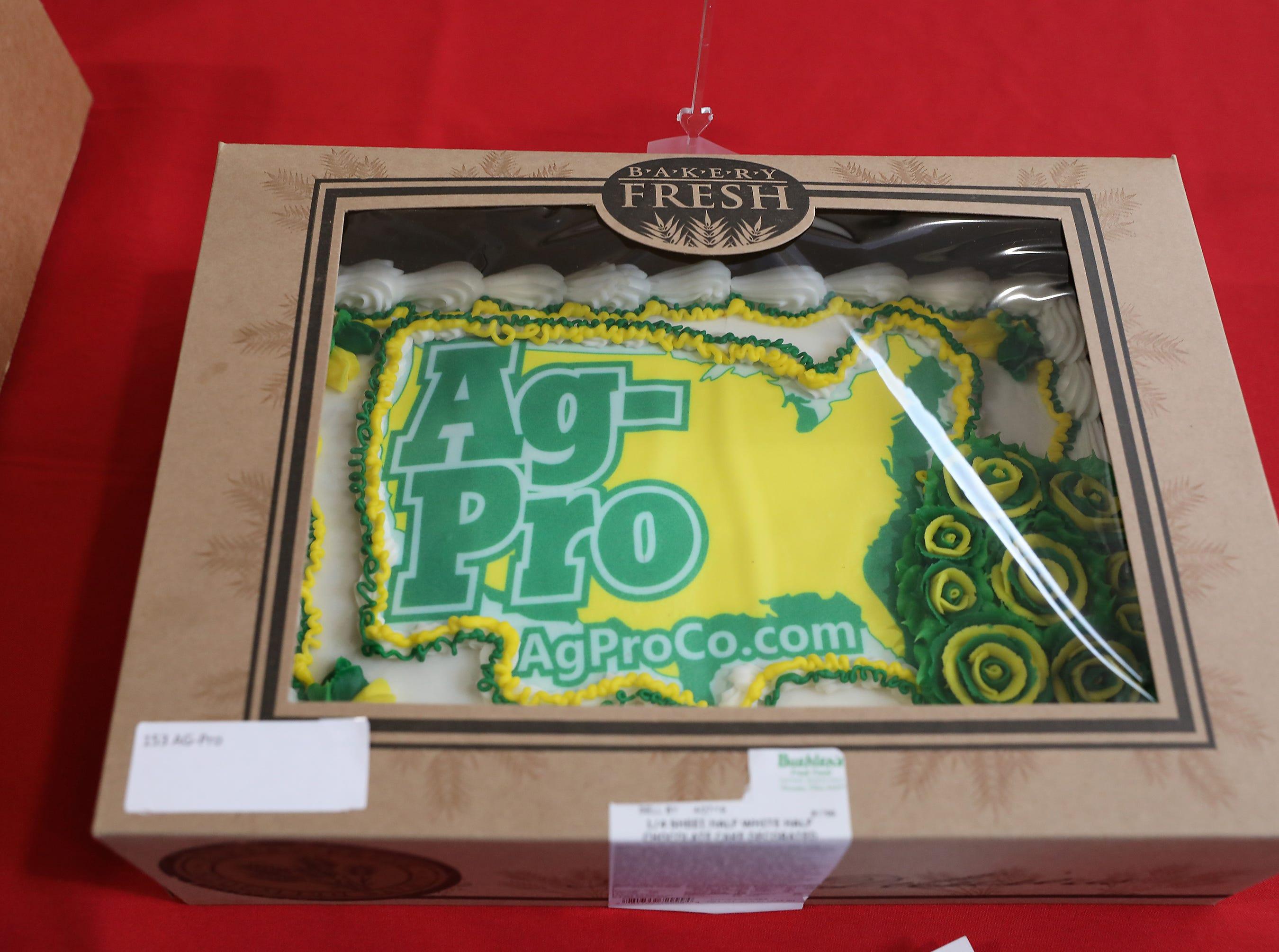 3:30 P.M. Thursday cake 153 AG-Pro