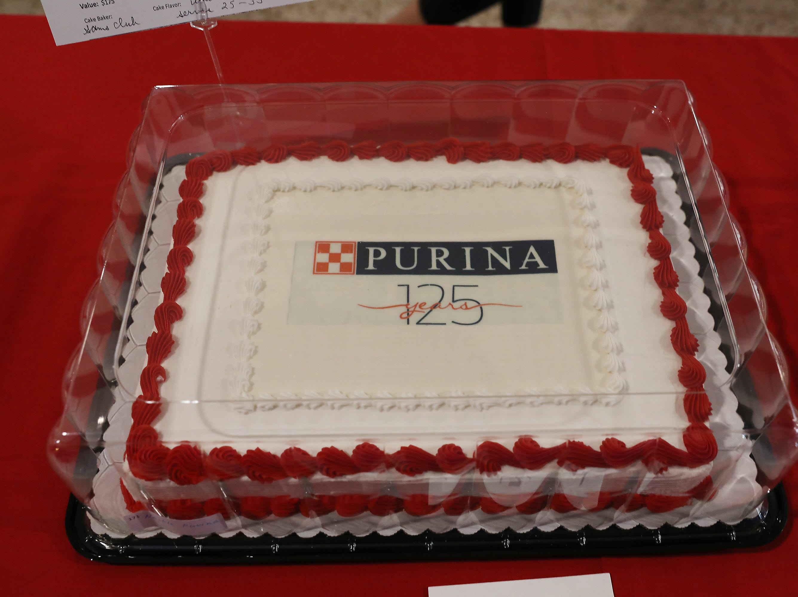4:15 P.M. Thursday cake 171 Nestle Purina - 10 cases of Moist and Meaty; $300
