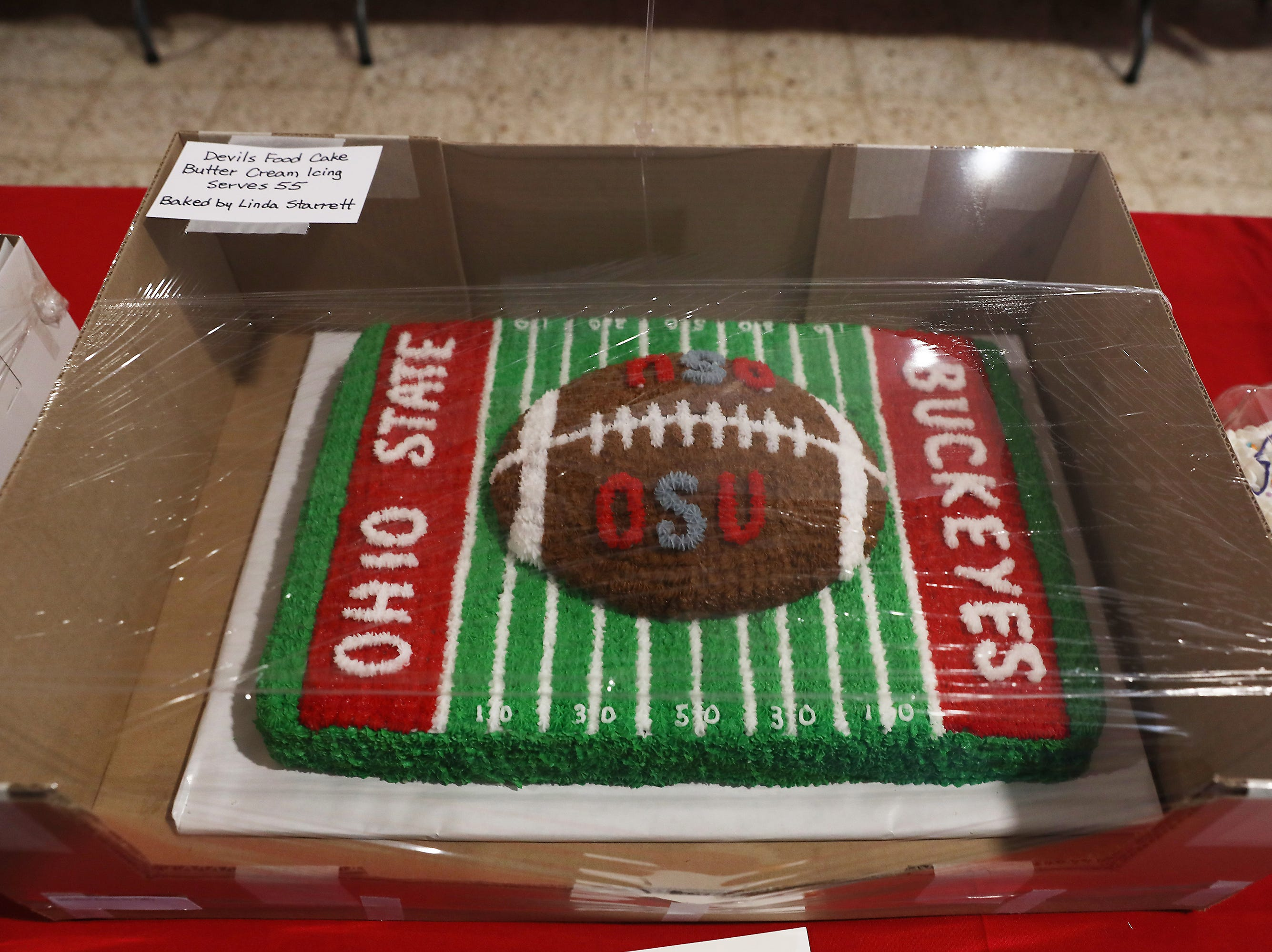 4:00 P.M. Thursday cake 165 Best Books by Taffy - 4 Ohio State Pre-Big 10 Basketball tickets; $140