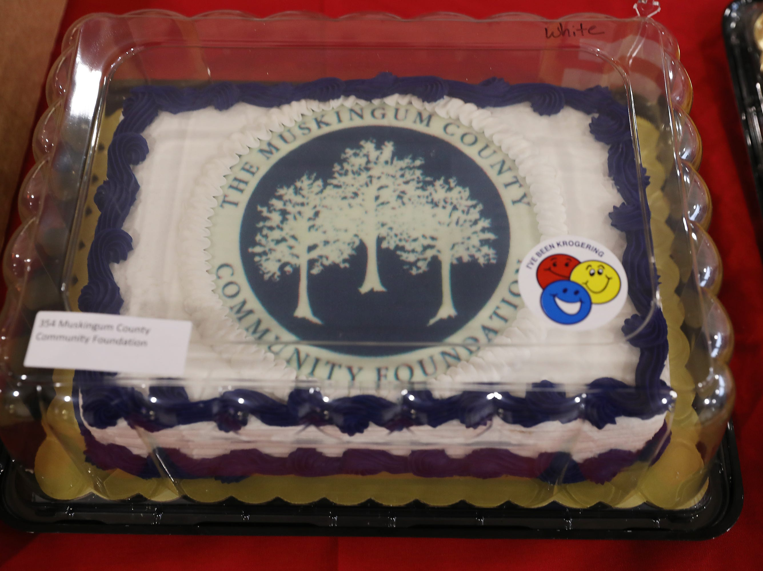3:15 P.M. Friday cake 354 Muskingum County Community Foundation - 2 tickets to the Foundation's Groundhog event, MCCF related items; $100