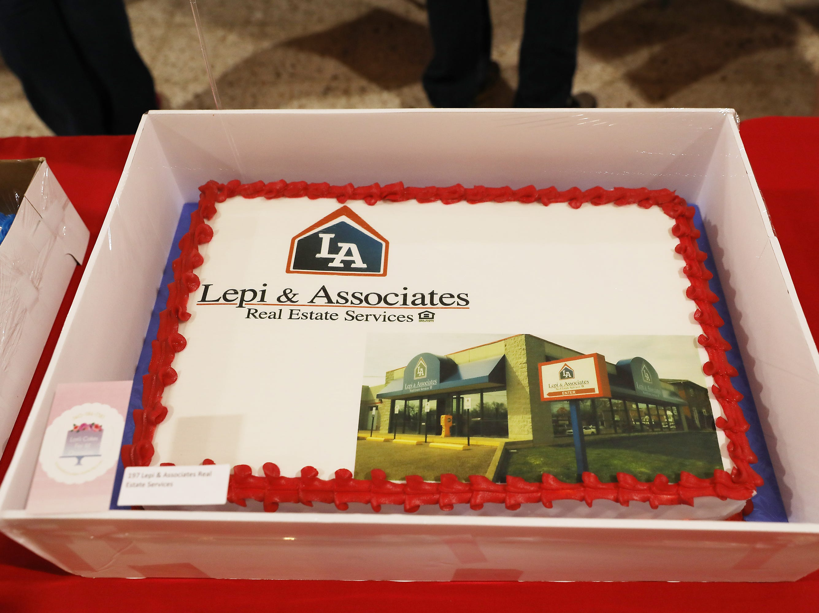 5:30 P.M. Thursday cake 197 Lepi & Associates Real Estate Services - four $50 gift cards to local restaurants