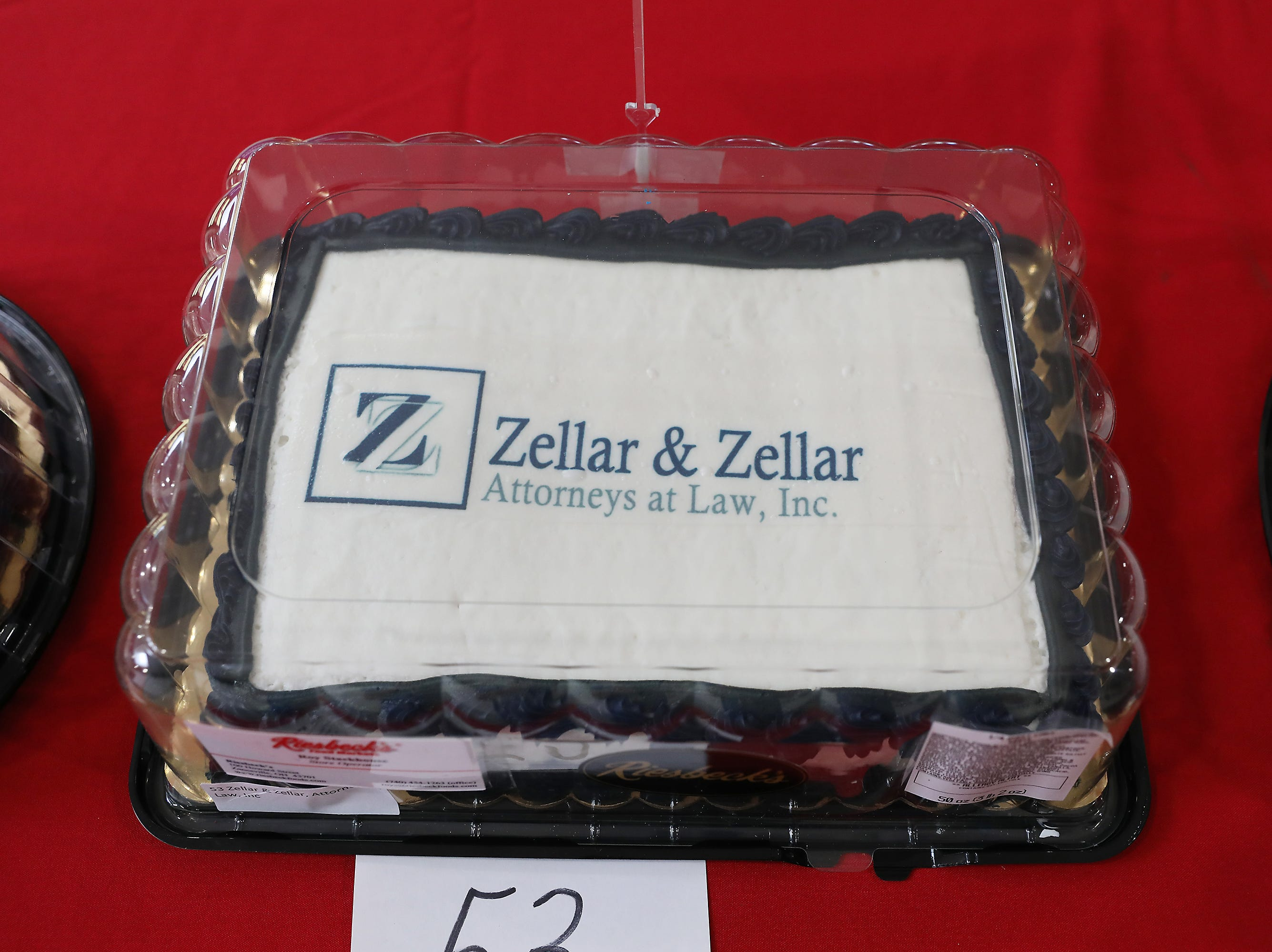10:30 A.M. Thursday cake 53 Zellar & Zellar, Attorneys at Law - family games, snacks, wealth planning session, discount of estate planning; $1,000