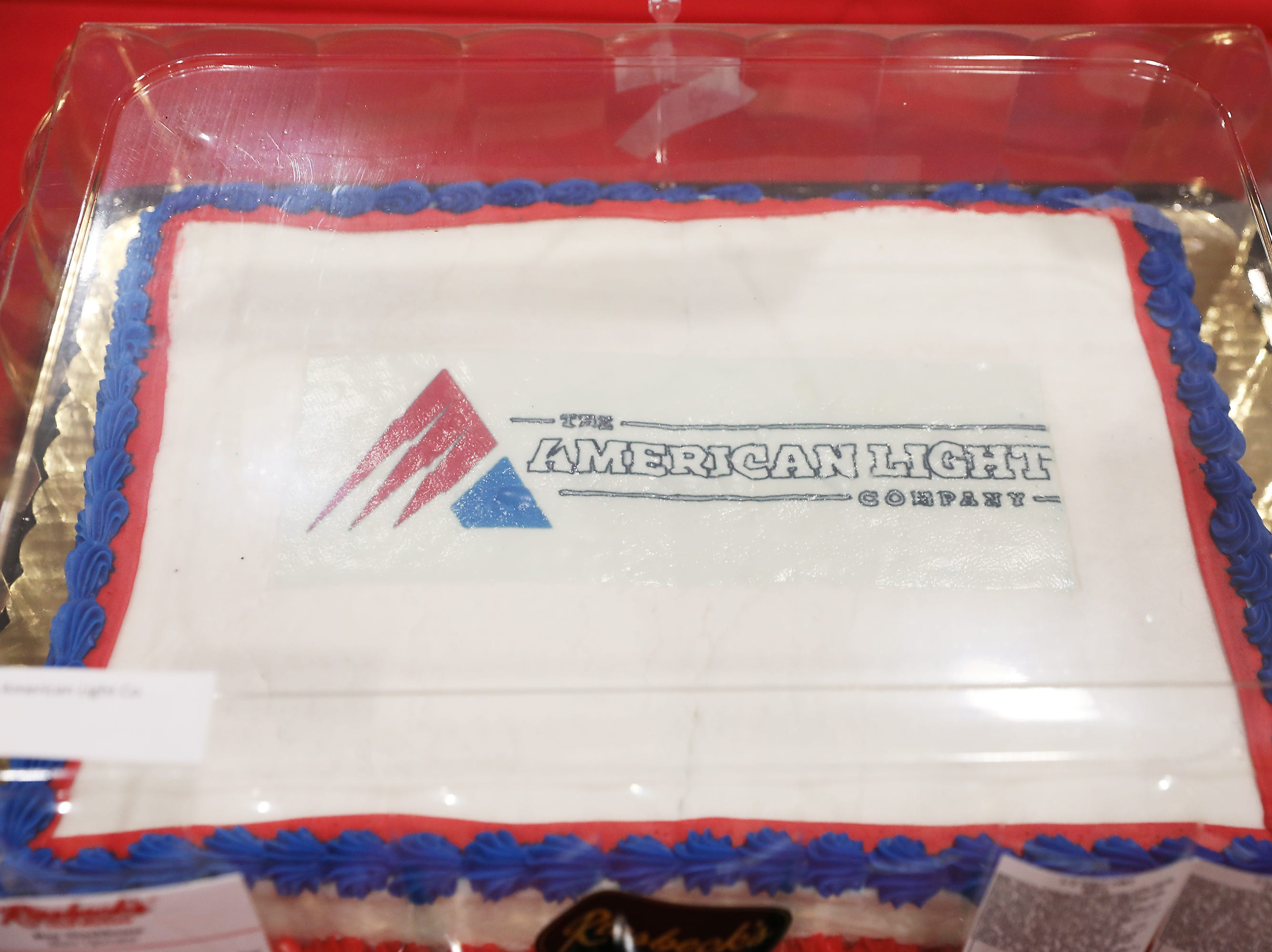 1:30 P.M. Friday cake 313 American Light Co. - Milwaukee M18 volt Packout kit with18v hammer drill impact driver, batteries, charger, tool box; $438