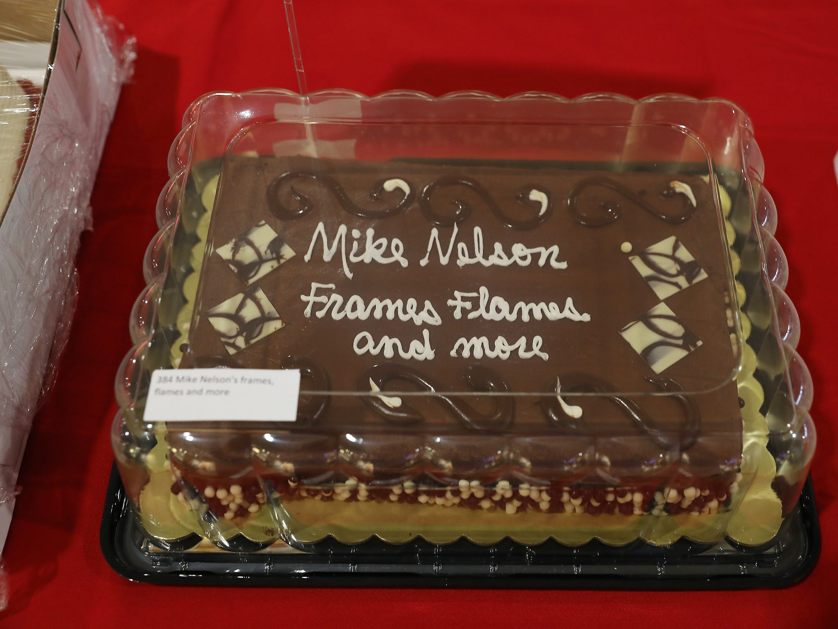 4:30 P.M. Friday cake 384 Mike Nelson's frames, flames and more