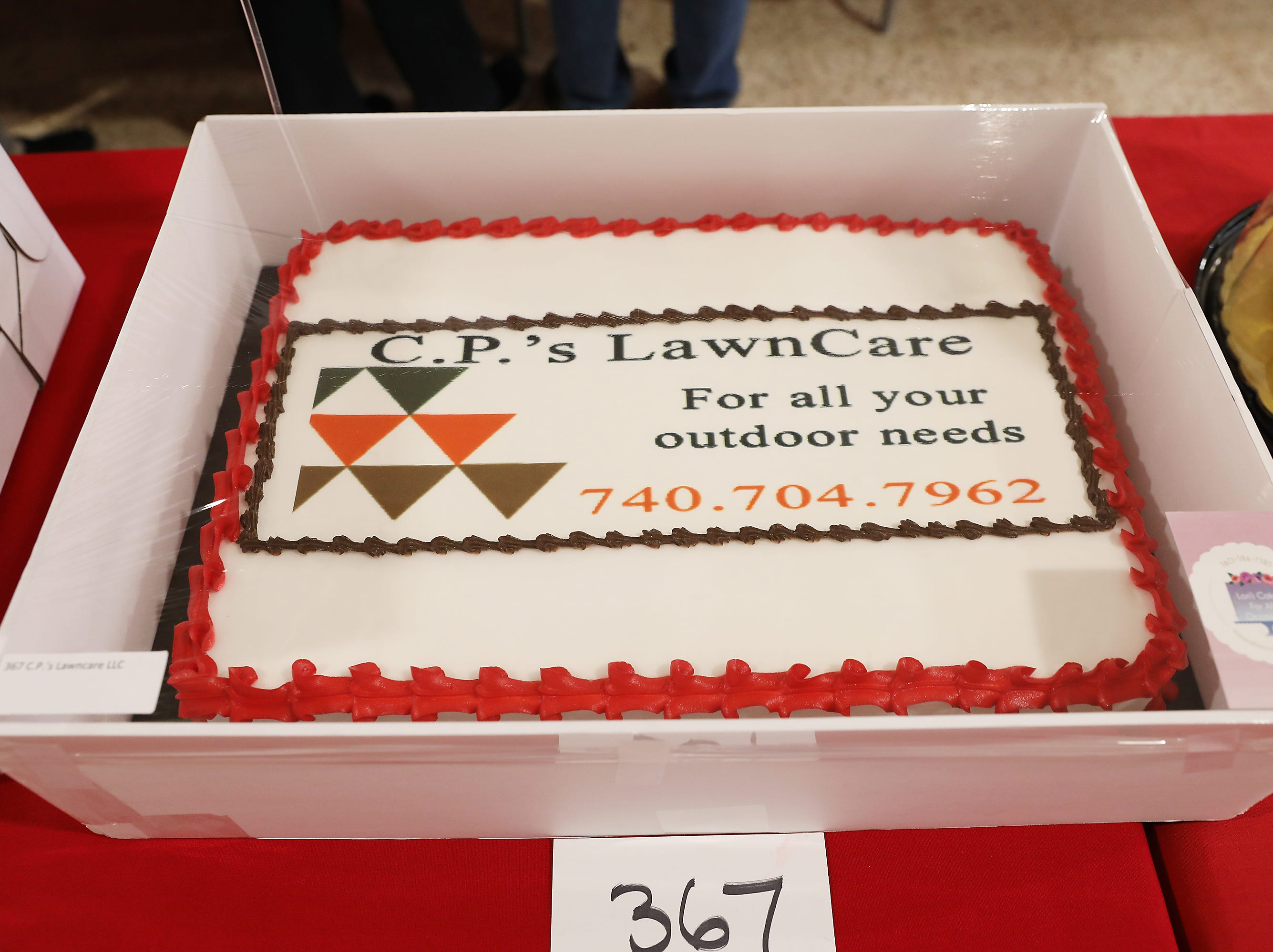 3:45 P.M. Friday cake 367 C.P.'s Lawncare LLC - 4 nights at The Place at Corkscrew, Estero, Florida; $1,400