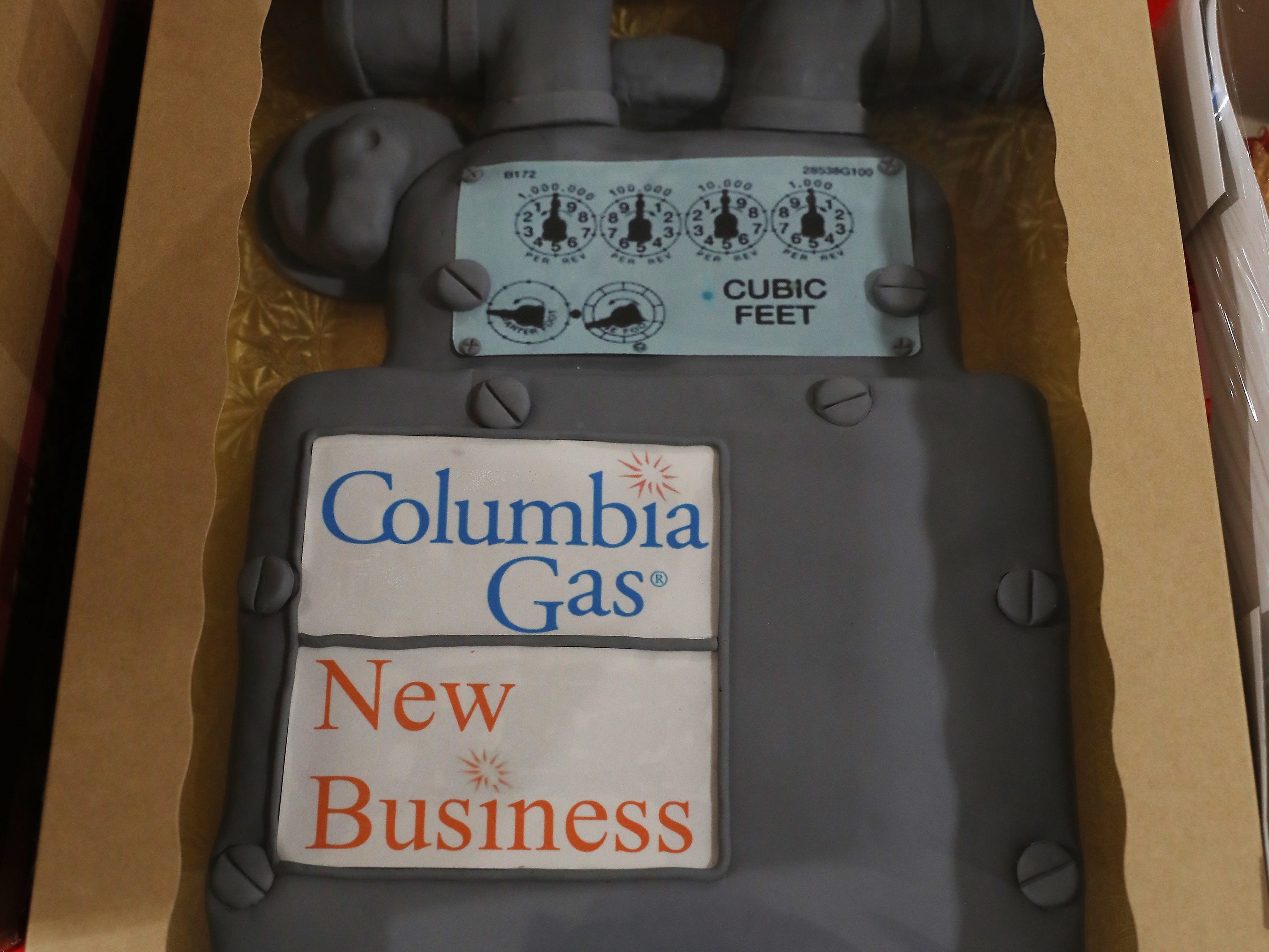 9:45 AM Thursday cake 39 Columbia Gas.